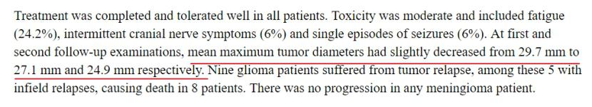 质子重离子治疗胶质瘤